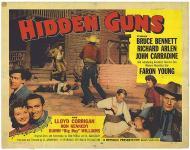 Western Movies - Hidden Guns 1956 - Documents et Affiches