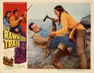 Western Movies - The Rawhide Trail 1958 - Documents et Affiches