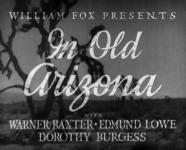 Western Movies - Dans le vieil Arizona (In old Arizona) 1928 - Documents et Affiches