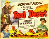 Western Movies - Red Desert 1949 - Documents et Affiches