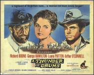 Western Movies - Tonnerre Apache (A Thunder of Drums) 1961 - Documents et Affiches