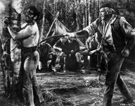 Western Movies - La Captive aux yeux clairs / Les Hommes de l'Ouest (The Big Sky) 1952 - Documents et Affiches