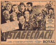 Western Movies - La Chevauchée Fantastique (Stagecoach) 1939 - Documents et Affiches
