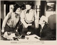 Western Movies - Le Faussaire de Santa-Fe (Bordertown gun fighters) 1943 - Documents et Affiches