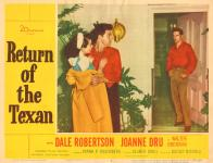 Western Movies - Return of the Texan 1952 - Documents et Affiches