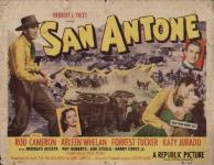 Western Movies - Les Rebelles de San Antone (San Antone) 1953 - Documents et Affiches