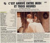 Western Movies - C'est arrivé... Entre midi et trois heures (From noon till three) 1975 - Documents et Affiches