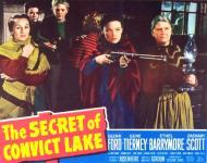 Western Movies - L'énigme du Lac Noir (The Secret of convict lake) 1951 - Documents et Affiches