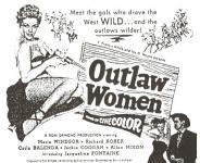 Western Movies - Femmes hors-la-loi (Outlaw women) 1952 - Documents et Affiches