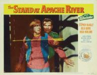Western Movies - The Stand at Apache River 1953 - Documents et Affiches