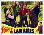 Western Movies - The Law Rides 1936 - Documents et Affiches