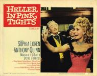 Western Movies - La Diablesse en collant rose (Heller in pink tights) 1959 - Documents et Affiches