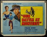 Western Movies - Livré au bourreau (Gun battle at Monterey) 1957 - Documents et Affiches