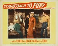 Western Movies - La Diligence de la peur (Stagecoach to fury) 1956 - Documents et Affiches