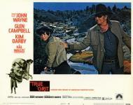 Western Movies - 100 Dollars pour un shérif / Cent Dollars pour un shérif (True Grit) 1969 - Documents et Affiches