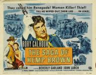 Western Movies - L'Implacable poursuite (The Saga of Hemp Brown) 1958 - Documents et Affiches