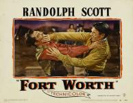 Western Movies - La Furie du Texas / Texas Express (Fort Worth) 1951 - Documents et Affiches