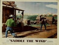 Western Movies - Libre comme le vent (Saddle the wind) 1957 - Documents et Affiches