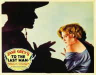 Western Movies - Jusqu'au dernier homme (To the Last Man / Law of Vengeance) 1933 - Documents et Affiches