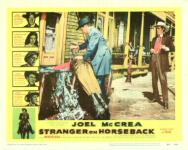 Western Movies - Le Juge Thorne fait sa loi (Stranger on horseback) 1954 - Documents et Affiches