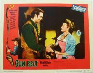 Western Movies - Tempête sur le Texas (Gun Belt) 1953 - Documents et Affiches