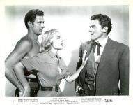Western Movies - Overland Pacific / Silver Dollar 1954 - Documents et Affiches