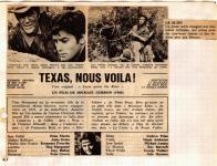 Western Movies - Texas nous voila (Texas Across the River) 1966 - Documents et Affiches
