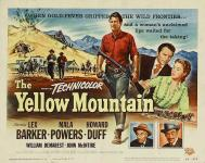 Western Movies - La Montagne Jaune (The Yellow Mountain) 1954 - Documents et Affiches