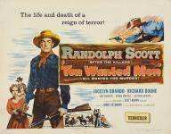 Western Movies - Dix hommes à abattre (Ten wanted men) 1954 - Documents et Affiches