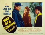 Western Movies - Le Gaucho (Way of a gaucho) 1952 - Documents et Affiches