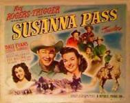 Western Movies - Susanna Pass 1949 - Documents et Affiches