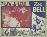 Western Movies - Law and Lead 1936 - Documents et Affiches