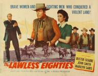 Western Movies - Flèches sanglantes (The Lawless eighties) 1957 - Documents et Affiches