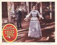 Western Movies - L'Étreinte du destin (Count three and pray) 1955 - Documents et Affiches