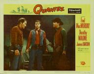 Western Movies - Quantez, leur dernier repaire (Quantez) 1957 - Documents et Affiches
