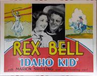 Western Movies - The Idaho Kid 1936 - Documents et Affiches