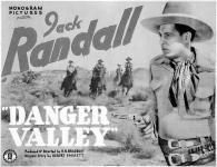 Western Movies - Danger valley 1937 - Documents et Affiches