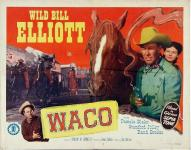 Western Movies - Waco 1952 - Documents et Affiches