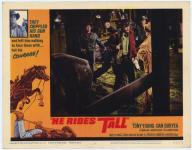 Western Movies - La valse des colts (He Rides Tall) 1964 - Documents et Affiches