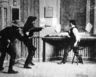 Western Movies - La grande attaque du train (The Great Train Robbery) 1903 - Documents et Affiches