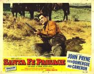 Western Movies - Le Passage de Santa Fé (Santa Fe Passage) 1955 - Documents et Affiches
