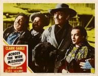 Western Movies - Au delà du Missouri (Across the wide Missouri) 1951 - Documents et Affiches