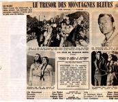 Western Movies - Le Trésor des Montagnes Bleues (Winnetou - 2. Teil) 1964 - Documents et Affiches