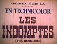 Western Movies - Les Indomptés (Renegades) 1946 - Documents et Affiches
