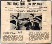 Western Movies - 2 Croix pour un implacable (Due croci a Danger Pass) 1969 - Documents et Affiches
