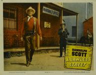 Western Movies - Ville sans loi (A lawless street) 1955 - Documents et Affiches