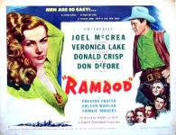 Western Movies - Femme de Feu (Ramrod) 1947 - Documents et Affiches