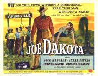Western Movies - Joe Dakota (Joe Dakota) 1957 - Documents et Affiches