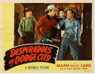 Western Movies - Le Piège de Canyon Pass (Desperadoes of Dodge City) 1948 - Documents et Affiches
