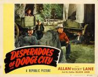 Western Movies - Desperadoes of Dodge City 1948 - Documents et Affiches
